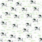 Pattern with  zebras Royalty Free Stock Photography