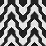 Pattern with zig zag in black and white color Royalty Free Stock Images