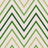 Pattern with zig zag in green colors Royalty Free Stock Photography