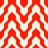 Pattern with zig zag in red color Royalty Free Stock Photos
