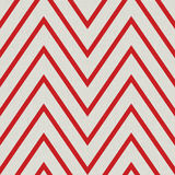 Pattern with zig zag in red colors Stock Image