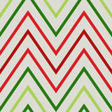 Pattern with zig zag in red and green colors Stock Images