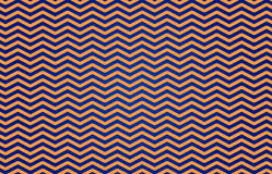 Pattern ZIGZAG in Blue and Yellow Stock Image