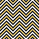 Pattern in zigzag Stock Photography