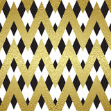 Pattern in zigzag Stock Photo