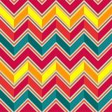 Pattern in zigzag Stock Image