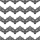 Swirling black smooth lines on white background. stock illustration