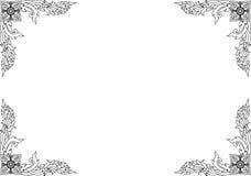 Pattern22 tailandés Imagen de archivo libre de regalías