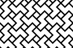 Pattern3. Pattern, seamless for wallpaper or background, strong geometry, chinese historical motive Stock Photos
