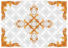 Pattern35 tailandese Fotografia Stock