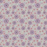 Repeating Spring Flower Pattern royalty free stock image
