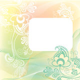 Patterned background in gentle tones Stock Photography