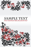 Patterned background Stock Photography