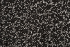 Patterned black and white background Royalty Free Stock Images