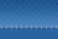 Patterned blue background Stock Photo