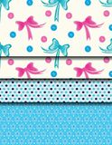 Patterned bow Stock Photography