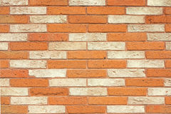 Patterned brick wall Royalty Free Stock Photo