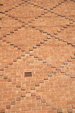 Patterned Brick Wall Stock Photography