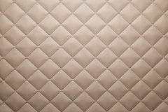Patterned brown leather fabric background royalty free stock image
