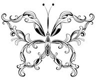 Patterned butterfly Royalty Free Stock Photos
