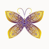 Patterned butterfly. Stock Image