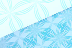 Patterned cardboard background Royalty Free Stock Images