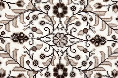 Patterned carpet background Stock Image