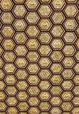 Patterned ceiling of the arcades at Spain Square. Seville, Spain - Dec 2018: Patterned ceiling of the arcades at Spain Square royalty free stock image