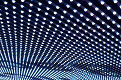 Patterned Ceiling Light. Ceiling light pattern and symmetric Royalty Free Stock Photography