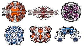 Patterned Ceramic. Patterned design vector by illustration Stock Illustration