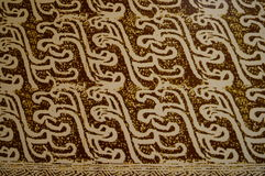 Patterned cloth blanket Stock Image