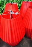 Patterned cloth lanterns 2 Royalty Free Stock Photo