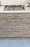 Patterned drawers furniture and bu Royalty Free Stock Image