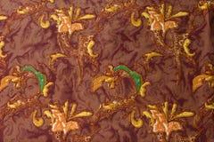 Patterned fabric stock illustration