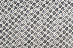 Patterned fabric Stock Image
