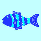 Patterned fish Stock Photos