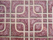 Patterned floor tile Stock Photo