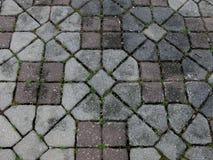 Patterned Floor Tiles Stock Image