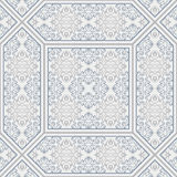 Patterned floor and wall tiles. Ceramic decorative tiles. Vintage flower texture. Royalty Free Stock Photos