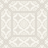 Patterned floor and wall tiles. Ceramic decorative tiles. Vintage flower texture. Royalty Free Stock Photography