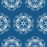Patterned floral background Royalty Free Stock Images