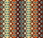 Patterned floral background. Illustration of colorful abstract floral background royalty free illustration