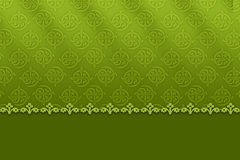 Patterned green background Royalty Free Stock Photo