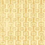 Patterned Grunge Background. Tan on light yellow Royalty Free Stock Images