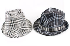 Patterned hats Royalty Free Stock Photos