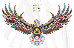 Free Patterned Head Of Eagle Stock Photography - 78869532