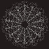 Patterned lace rosettes Royalty Free Stock Photography