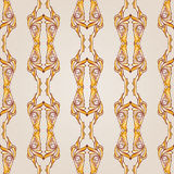 Patterned lines Royalty Free Stock Image