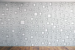 Patterned mesh wall Royalty Free Stock Photography