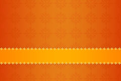 Patterned orange background Royalty Free Stock Photography